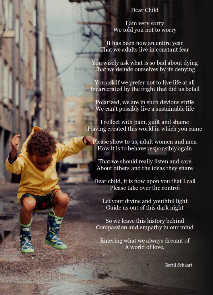 poem dear child